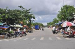 Bán 420m2 đất thổ cư mặt tiền đường ngay chợ gần tttm - tthc