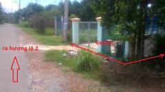 Đất 6x40m có nhà tại trung lập hạ huyện củ chi.