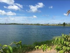 Đất nền bình chánh:105m2,mặt tiền đường 16m,gần hồ sinh thái