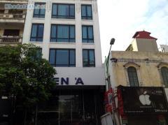 Cần cho thuê nhà mặt phố thái hà, 90m, 8 tầng, 105 triệu/th
