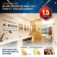 Chỉ 15 triệu/tháng có nên đầu tư officetel sun avenue