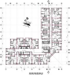 Chọn căn đẹp chung cư mbland mỹ đình - diện tích 65 m2, 68 m