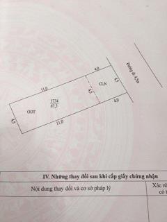 Bán nền thổ cư hẻm 112 hoàng quốc việt phường an bình 4,5x15