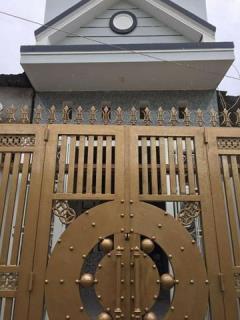 Bán nhà mới hẻm 9, đ.trần vĩnh kiết, p.an bình, gía 490 trệu