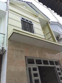 Bán nhà mới 1 trệt 1 lầu hẻm 423 đ.trần quang diệu, p.an thớ