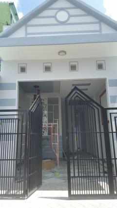 Bán nhà mới,thổ cư. hẻm 69 võ văn kiệt, phường an hoà.