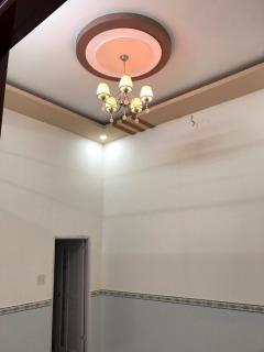 Bán nhà 1 trệt 1 lầu 6,5m x 24,5m. kdc hàng bàng, an khánh