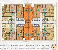 Chính chủ cần bán căn hộ dt 85.5m2 dự án mỹ sơn