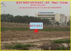 Bán đất gần trường đại học mới thuộc kđtm phía nam tp hd