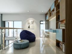 Lastoria -căn hộ gác lửng đâù tiên tại hcm cực đẹp.
