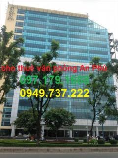 Cho thuê văn phòng tòa nhà trung tín giá rẻ nhất 1000m, 500m