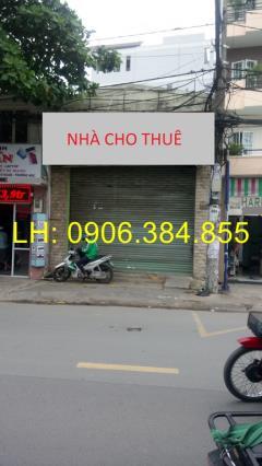 Cho thuê nhà mặt tiền thống nhất (5 x 20m), 1 trệt, 1 lững.