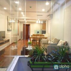 Cho thuê căn hộ dịch vụ tại phố huế - đầy đủ nội thất
