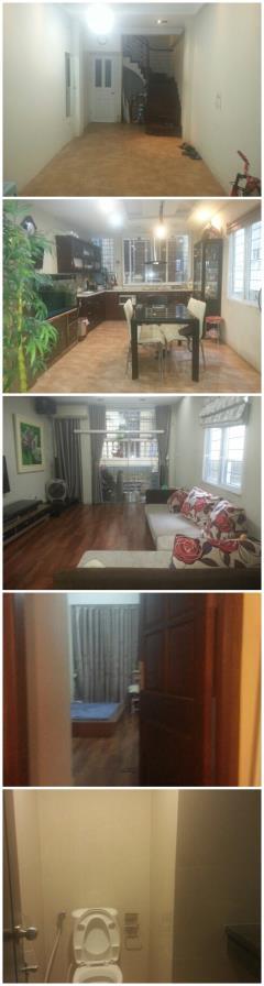 Cho thuê nhà riêng ngay gần trung tâm - đầy đủ nội thất