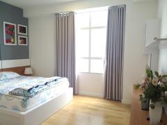 Căn hộ hoàng tháp 3 phòng ngủ, đủ nội thất, giá 14tr/tháng