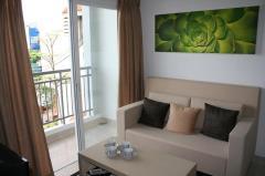6.5tr/tháng - căn hộ ehome 3, đủ nội thất, 2 phòng ngủ, nhà