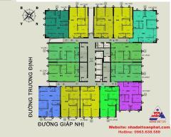 Bán chung cư eco green giáp nhị,chỉ từ 21tr/m2,full nội thất