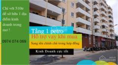 Chỉ 510tr sở hữu ngay căn hộ 93m2 tại tầng1 petro thăng long