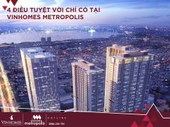 Ck tới 1,3 tỷ mua nhà tại vinhomes metropolis