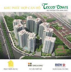 Tecco town - khu căn hộ cao cấp giá cạnh tranh nhất khu vực