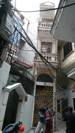 Bán nhà 3 tầng, 1 tum, nhà 2 mặt ngõ đầu phố khương trung