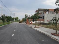 Bán đất bình chánh nằm mặt tiền tỉnh lộ 10, sổ hồng riêng x