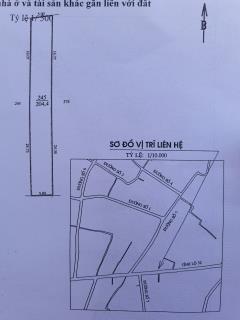 Bán đất mặt tiền đường tỉnh lộ 52 giá 580 triệu