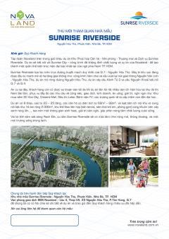 Căn hộ tiện ích view 3 mặt sông dành cho gia đình trẻ