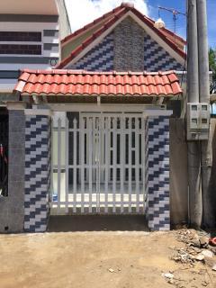 Nhà mới xây 490 triệu/ 80m2 thổ cư tại ấp 2 xã trung an tp m