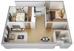 Căn hộ chung cư ct3: nơi an cư đẳng cấp chỉ với 840trđ