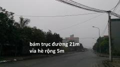 Bán đất khu đô thị hà khánh a bám trục đường to 21m