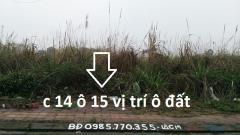 Bán đất khu đô thị hà khánh a gần chợ sato dt 200 m2 mt 8 m
