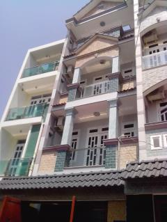 Nhà 5.4mx19m đúc 4 tấm hẻm 730 hương lộ 2