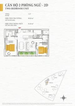 Đảo kim cương bán căn hộ tháp bahamas tầng 6 dt 90m2