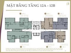 Bán căn duplex d1mension, tại tầng 12a-12b, thông tầng 187m2