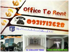 Văn phòng cho thuê tại phố quán thánh giao cửa bắc