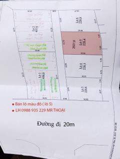 Đất nền sát kđt phú an nam 2 chỉ 4.5tr/m2, đường vào 13m