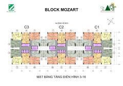 Căn hộ 71 m2 the art gia hòa - đxh quận 9 block mozart