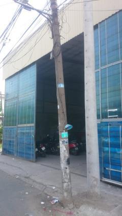 Bán xưởng đang sản xuất ở hóc môn, dt 1000m2, giá: 12 tỷ, th