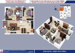 Bán căn hộ số 02 tòa b2 chung cư b1b2 linh đàm, hoàng mai.