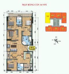 Cần bán gấp căn hộ số 14 chung cư vp2 linh đàm.