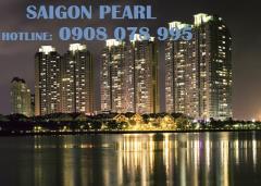 Bán ch saigon pearl 2pn, view manor, tầng cao, đủ nội thất