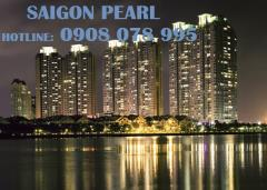 Bán ch saigon pearl  90m2 view manor, tầng cao -0908 078 995