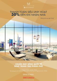 Căn hộ milliennium mở bán đợt cuối thanh toán 30% nhận nhà