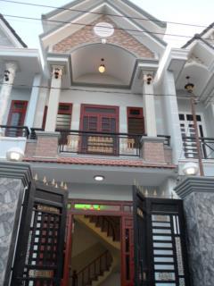 Nhà mới xây thạnh lộc 40 - 3 x10m đúc 1 lầu,giá rẻ 720 triệu