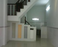 Nhà mới thạnh xuân 25 - dt 3 x 6m đúc 1 lầu giá rẻ 350triệu