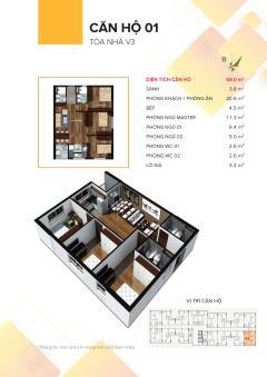 V3 prime the vesta  chung cư cao cấp dưới 1 tỷ tốt nhất hà