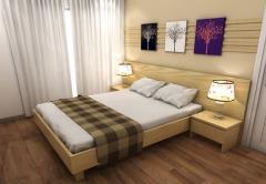 +1 vungtau plaza thiết kế sang trọng gỗ sồi nguyên khối