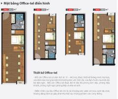 Bán lại 2 căn office-tel bằng giá gốc đợt 1