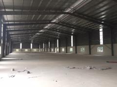 Cho thuê kho xưởng dt 1500m2 đức giang long biên hà nội